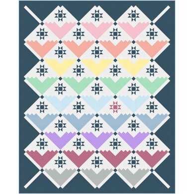 Michael Miller Fabrics Color Couture Quilt - Downloadable PDF