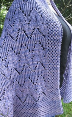 Koga Cable Lace Shawl