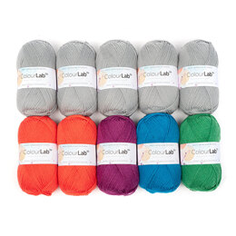 West Yorkshire Spinners ColourLab 10 Ball Colour Pack