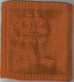 Headless Horseman Dishcloth Pattern