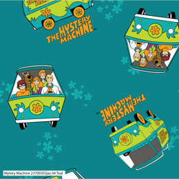 Visage Textiles Scooby Doo Mystery Machine Cut to Length - Multi