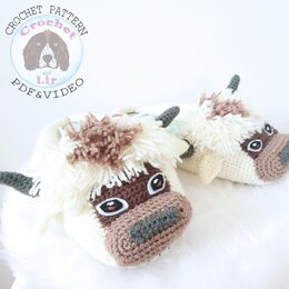Appa Bison Slippers