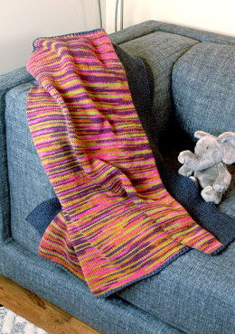 Mirador Blanket in Berroco Vintage Colours Aran
