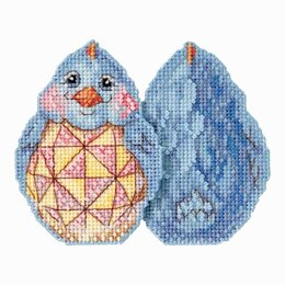 Mill Hill Blue Chick Beaded Cross Stitch Kit