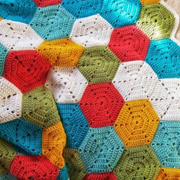 Rainbow of Hexagons
