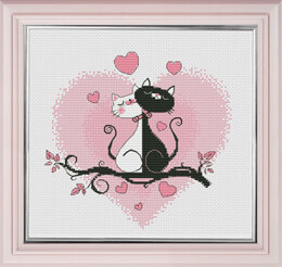 Oven It is Love! Cross Stitch Kit