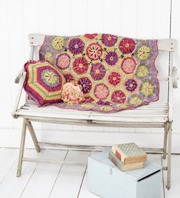 Blanket and Cushion in Stylecraft Batik - 9298 - Leaflet