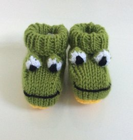 Frog baby boots