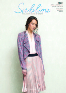 Jacket in Sublime Sophia - 6122 - Leaflet
