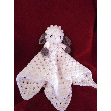763 LITTLE LAMB BABY SNUGGLE BLANKET