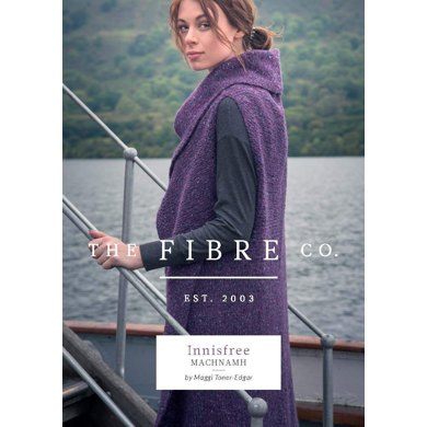 Machnamh Vest in The Fibre Co. Arranmore - Downloadable PDF