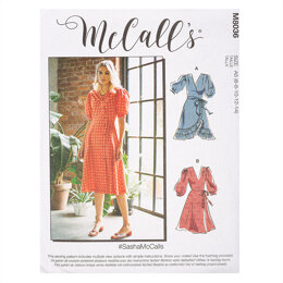 McCall's #SashaMcCalls - Misses' Dresses & Sash M8036 - Sewing Pattern