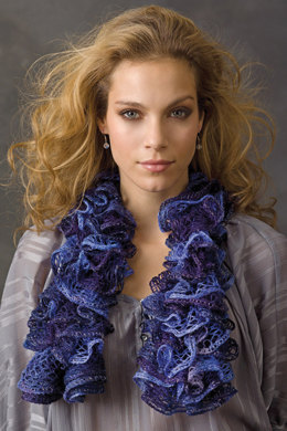 Scarf in Schachenmayr Frilly - Downloadable PDF