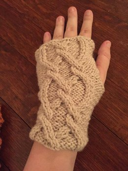 Johanna Mason Fingerless Gloves