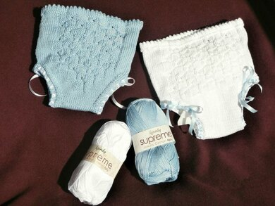 Building Blocks Baby Knickers & Bootees