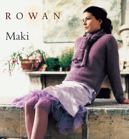 Maki Sweater & Scarf in Rowan Kidsilk Haze
