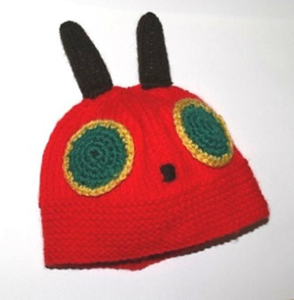 A Very Hungry Caterpillar Baby Hat Knitting pattern by Ellie ...