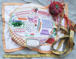 Dropcloth Samplers The Original's Sequel Embroidery Kit