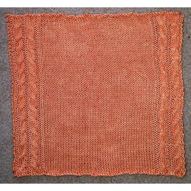 Cabled Handkerchief