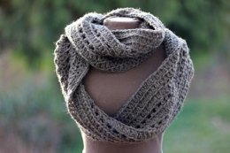 Riding the Rails Ribbed Infinity Scarf