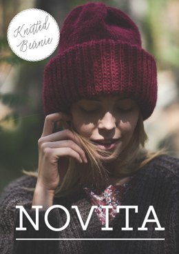 Knitted Beanie in Novita Natura - Downloadable PDF
