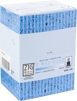 Zig 2-Way Glue Pen 12/Pkg - Chisel Tip