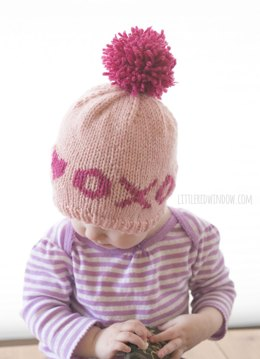 XOXO Hugs & Kisses Valentine Hat