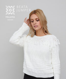 Beata Jumper in MillaMia Naturally Soft Cotton - Downloadable PDF