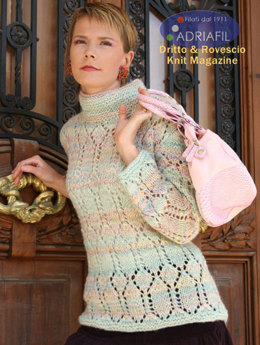Varsavia Pullover in Adriafil Twin - Downloadable PDF