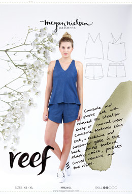 Megan Nielsen Reef Nightwear MN2401 - Sewing Pattern
