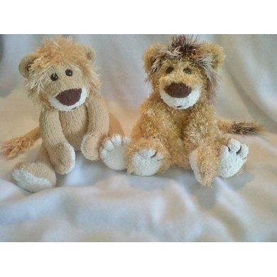 Lester The Lion Knitting Pattern By Gypsycream