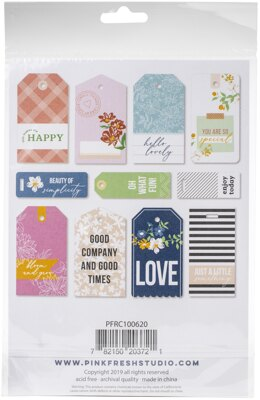 Pinkfresh Studio PinkFresh Cardstock Die-Cuts 11/Pkg - My Favorite Story Tags