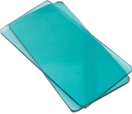 Sizzix Sidekick Cutting Pads 1 Pair - Aqua