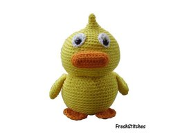 Amigurumi Peter the Duckling