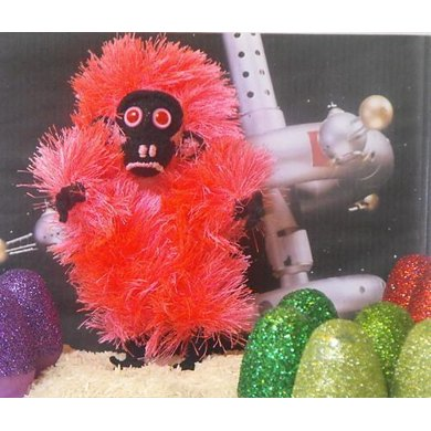 Pinky the fluorescent egg-laying space orangutan