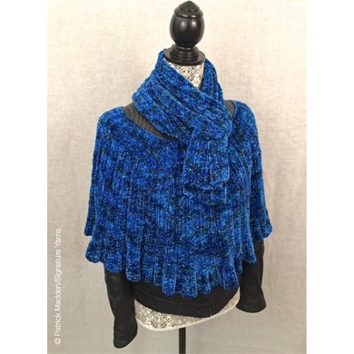 The Corso Capelet and Scarf Knitting pattern by Robin Hunter Knitting Patte...