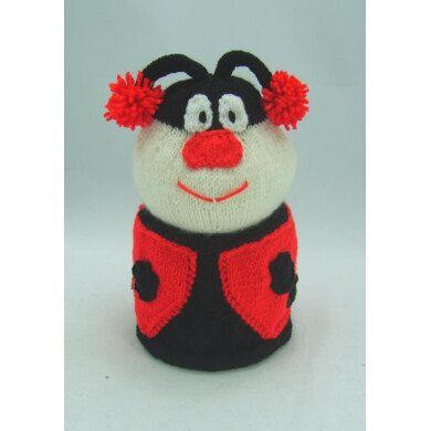 Ladybird Toilet Roll Cover