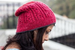 Twisted Lines Hat