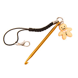 Gingerbread Man Mini Crochet Hook
