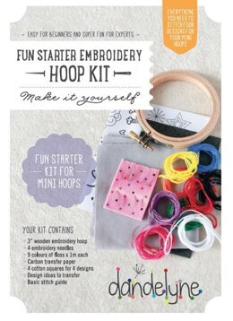 Dandelyne Fun Starter Mini Embroidery Kit
