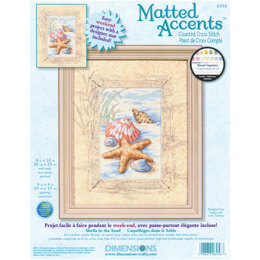 Dimensions Shells In The Sand Cross Stitch Kit - 8 x 10 inches