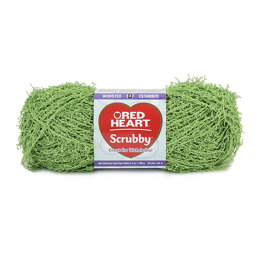Red Heart Scrubby Solids