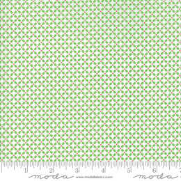 Moda Fabrics First Romance Cut to Length - Cutie Pie Floral Garden Gate - Light Green