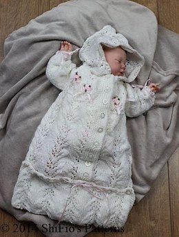 Knitted Baby Sleeping Bag Pattern #151