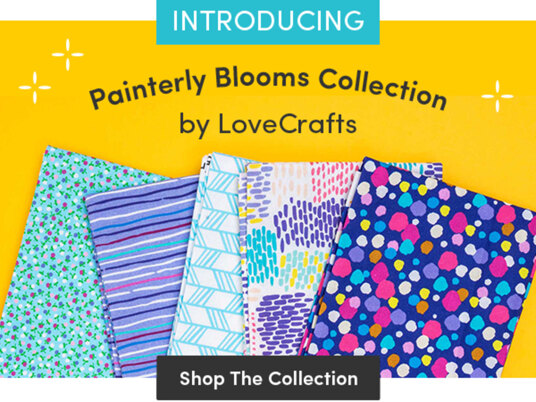 Painterly Blooms collection by LoveCrafts has arrived!