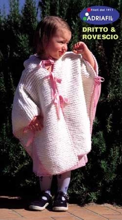 Arianna Poncho in Adriafil Carnival and Time - Downloadable PDF