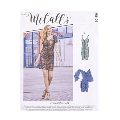 McCall's Misses' Dresses M8109 - Sewing Pattern