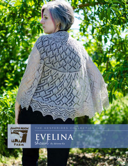Evelina Shawl in Juniper Moon Findley - Downloadable PDF