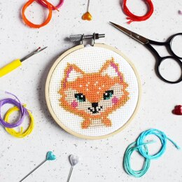 The Make Arcade Mini Cross Stitch - Florence Fox