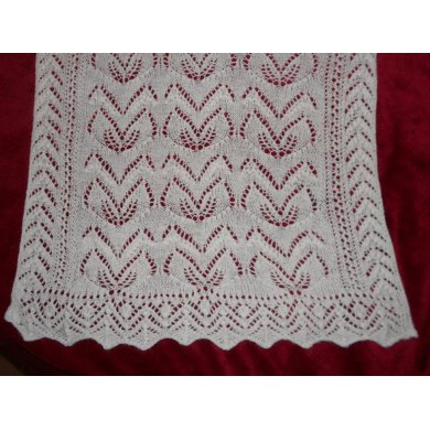 Lily of the Valley Bridal Shawl